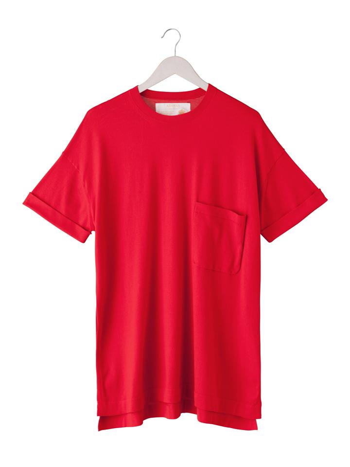 アダワス ADAWAS レディース エジプト綿オーバーサイズTシャツ ADWS-707-41