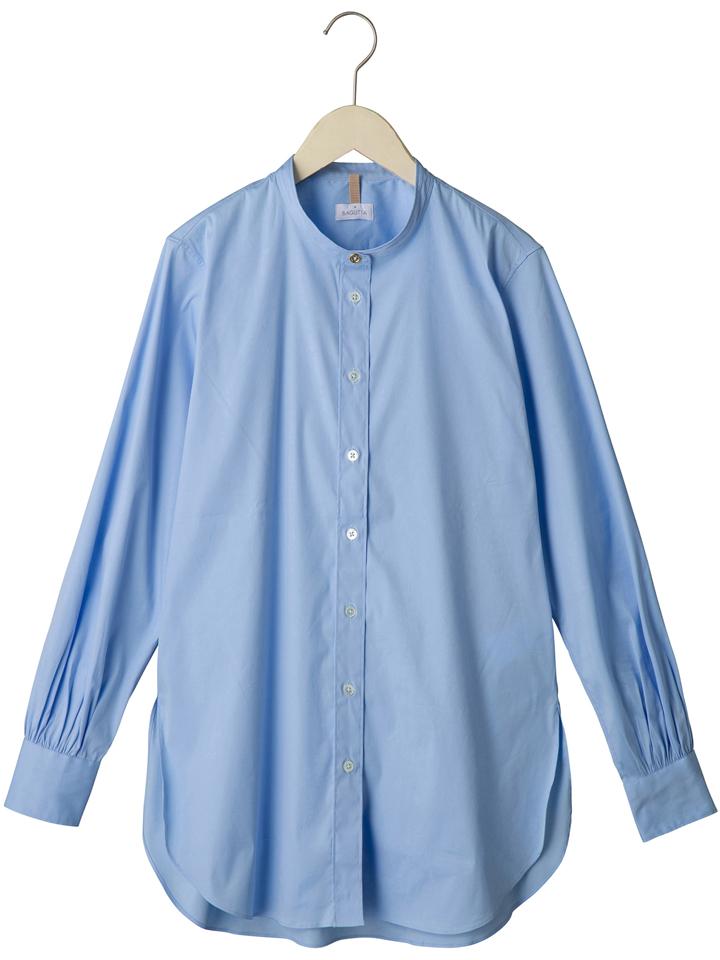 バグッタ BAGUTTA レディース ×高橋リタ G LERA バンドカラーストレッチコットンシャツ G LERA-CN00672