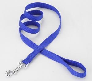秀逸 シンプルな構造にも使いやすさを追求 ペット ペットグッズ 犬用品 首輪 胴輪 Petio W56664 ブルー リード 買物 ペティオ プラットリードM