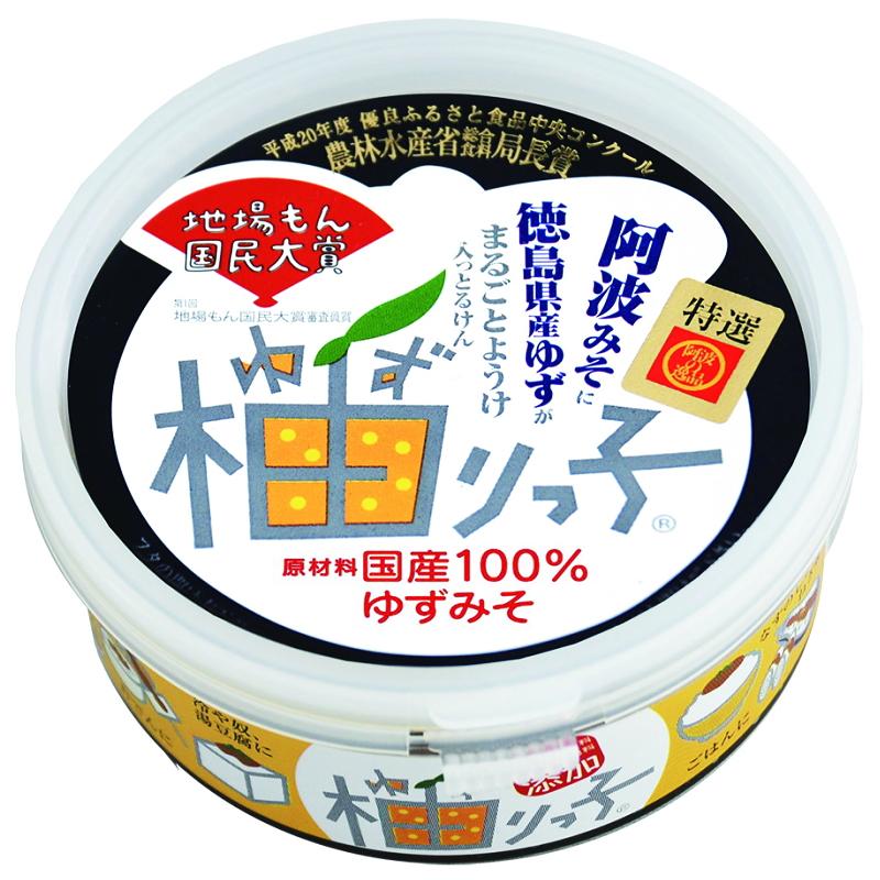 原材料は全て国産の柚子 味噌 砂糖のみ 食品 調味料 みそ ゆず ついに入荷 国産100% 130g 柚りっ子 柚子 豆みそ ランキングTOP10