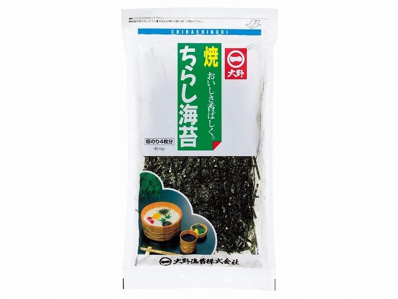 日本最大級の品揃え 食品 乾物 粉類 海苔 きざみ海苔 もみ海苔 徳島有名メーカー 約12g 大野海苔 板のり4枚分 販売実績No.1 ちらしのり 大野のり