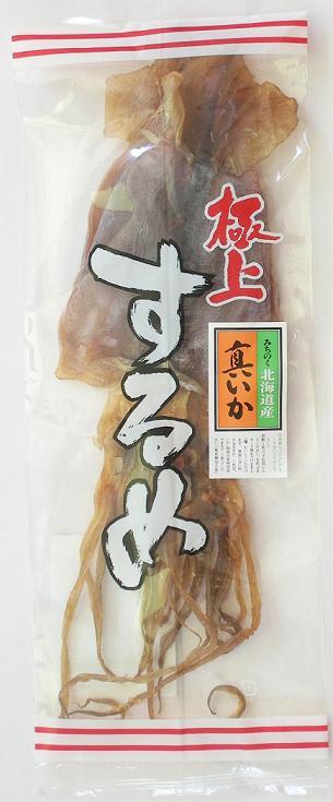 リカーショプでの人気商品です。【食品 乾物 スルメイカ するめ おつまみ】 愛晃 北海するめ 3-4サイズ 2枚入