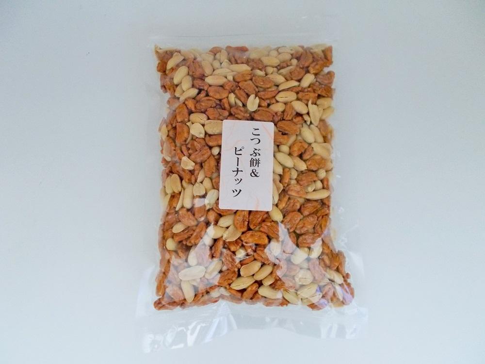 【送料無料・メール便専用】 こつぶ餅&ピーナッツ 245g