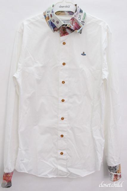 【USED】マネーカラーシャツ Vivienne Westwood MANVivienne Westwoodヴィヴィアンウエストウッド ビビアン 【中古】