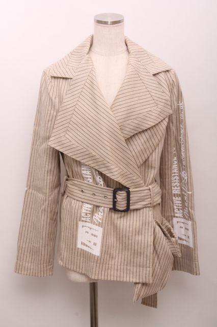 【USED】ARストライプジャケットVivienne Westwood(ヴィヴィアンウエストウッド・ビビアン)【中古】