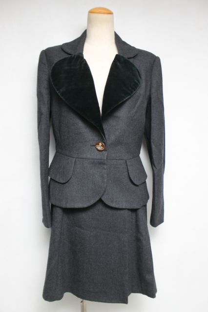 【USED】ラブジャケットセットアップ Vivienne WestwoodVivienne Westwoodヴィヴィアンウエストウッド ビビアン 【中古】