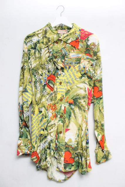 【USED】【未使用品】プラントフラッキングアナーキーシャツ Vivienne WestwoodVivienne Westwoodヴィヴィアンウエストウッド ビビアン 【中古】