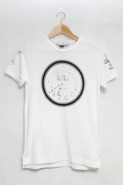 【USED】マルチアイコンptTシャツ Vivienne WestwoodVivienne Westwoodヴィヴィアンウエストウッド ビビアン 【中古】