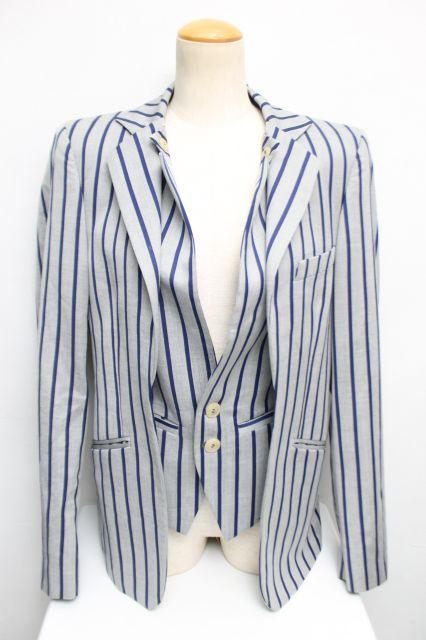 【USED】MAN ストライプウエストコートジャケット Vivienne Westwood MANVivienne Westwoodヴィヴィアンウエストウッド ビビアン 【中古】