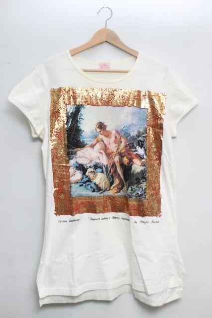 【USED】Vintage 羊飼イ額縁ptTシャツ Vivienne WestwoodVivienne Westwoodヴィヴィアンウエストウッド ビビアン 【中古】