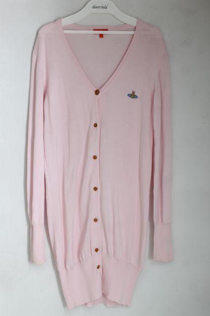 【USED】カラーオーブ刺繍サマーロングカーディガン Vivienne WestwoodVivienne Westwoodヴィヴィアンウエストウッド ビビアン 【中古】