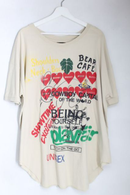 【USED】MEANINGLESS BAGGY Tシャツ ANGLOMANIAVivienne Westwoodヴィヴィアンウエストウッド ビビアン 【中古】