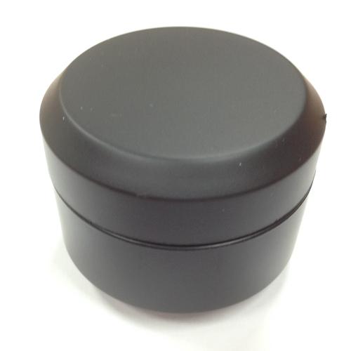 ネイル 送料無料でお届けします ジェル用コンテナ 空容器 15ml マット ブラック 初回限定 ジェルの保管に