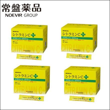 【送料無料・4個セット】トキワ シトラミンCプラス 100包 (常盤薬品 ノエビアグループ ビタミンC)