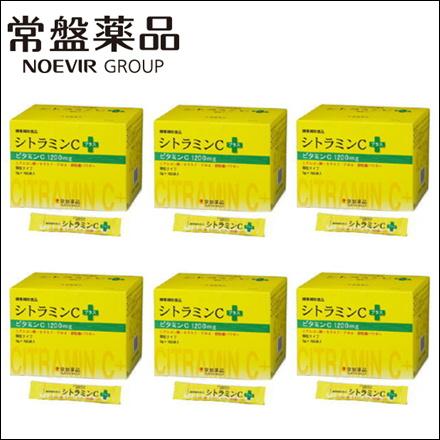 【送料無料・6個セット】トキワ シトラミンCプラス 100包 (常盤薬品 ノエビアグループ ビタミンC)