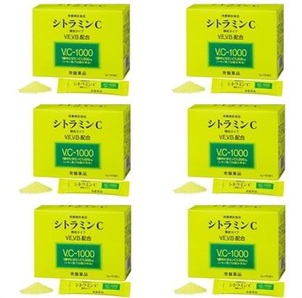 【送料無料・6個セット】トキワ シトラミンC 60包  (常盤薬品 ノエビアグループ ビタミンC)