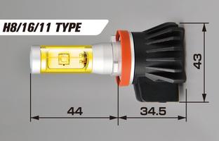 LED fog light H8/H11/H16 type 6500K