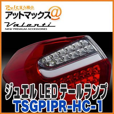 Jewel LED Tail Lamp Half Red / Chrome Subaru XV IMPREZA Sports