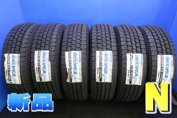 205/60R17.5 111/109 トーヨータイヤ デルベックス M934新品タイヤスタッドレスタイヤ 6本セット