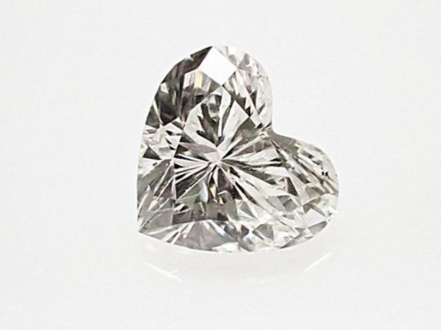 お手頃 ほぼ 0.2ct! 0.194ct G SI1 ハートシェイプ ダイヤモンド ルース
