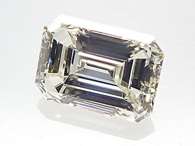 M,VVS2,エメラルドカット 0.501ct ダイヤモンドルース
