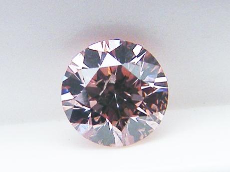 0.149ct FANCY.ORANGY.PINK,I1 ピンクダイヤモンドルース