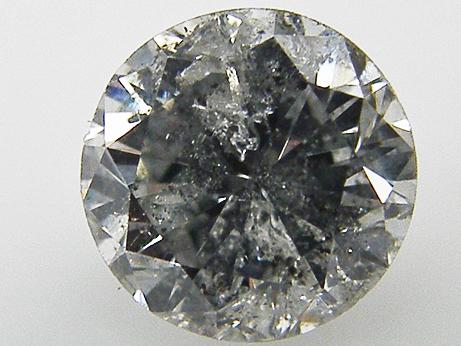 0.658ct H,I2,FAIR ダイヤモンドルース