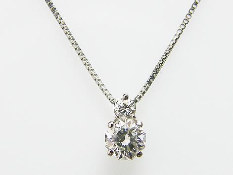 0.274ct I,SI1,フランダースカット & メレダイヤ 0.039ct PT製 ダイヤモンドペンダント
