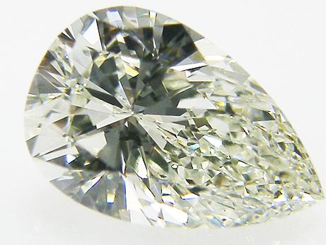 1.040ct K,VS2,ペアシェイプ ダイヤモンドルース
