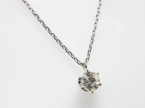 0.359ct J,SI2,FAIR PT製 6本爪 ダイヤモンドペンダント