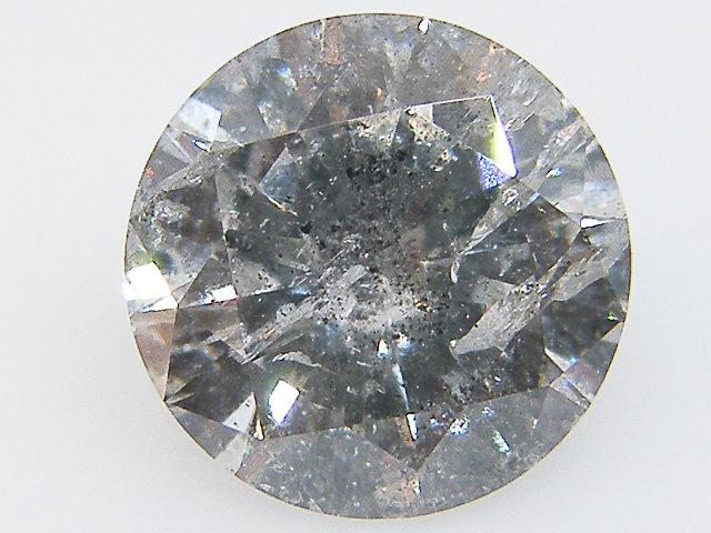 【大粒】【天然ダイヤモンド】【ルース】3.073ct H,I1,GOOD ダイヤモンド ルース