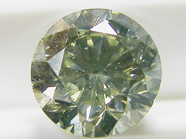 2.022ct FANCY.LIGHT.YELLOW.GREEN,SI2,GOOD イエローグリーンダイヤモンドルース