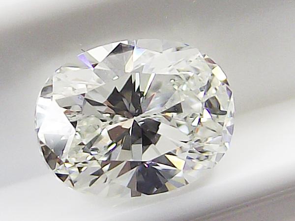 1.028ct H,SI2,オーバル ダイヤモンド ルース