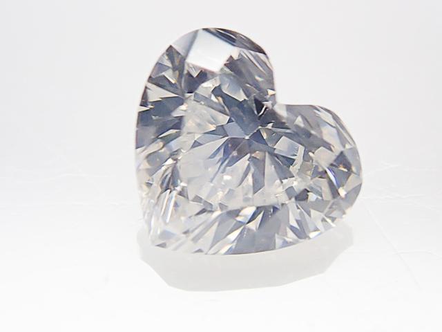 0.503ct F,SI1,ハートシェイプ ダイヤモンドルース