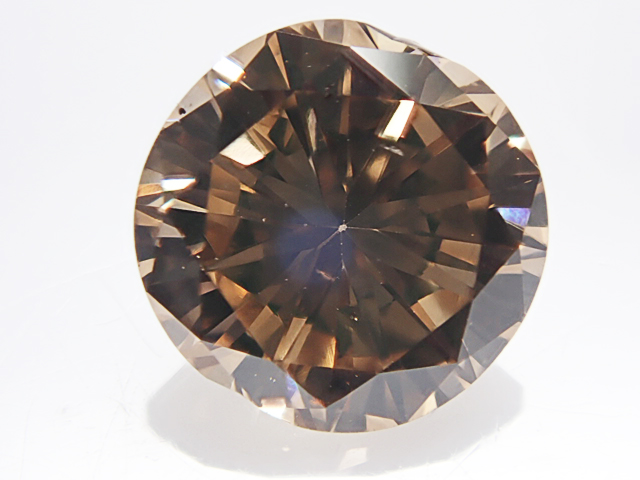 0.977ct FANCY.BROWN,SI1,ラウンド ブラウンダイヤモンドルース