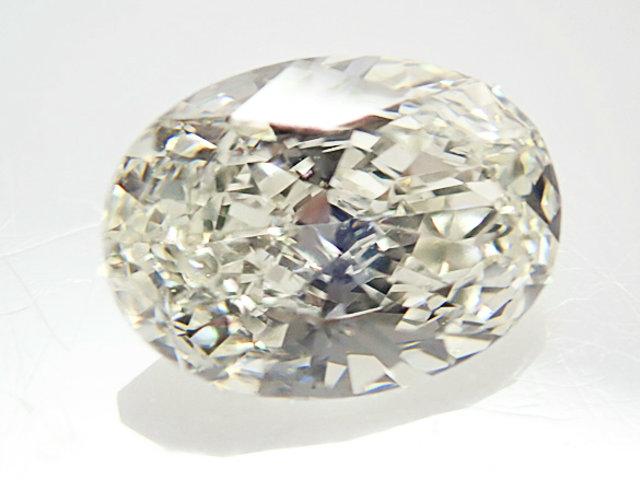 0.614ct L,VS1,オーバル ダイヤモンドルース