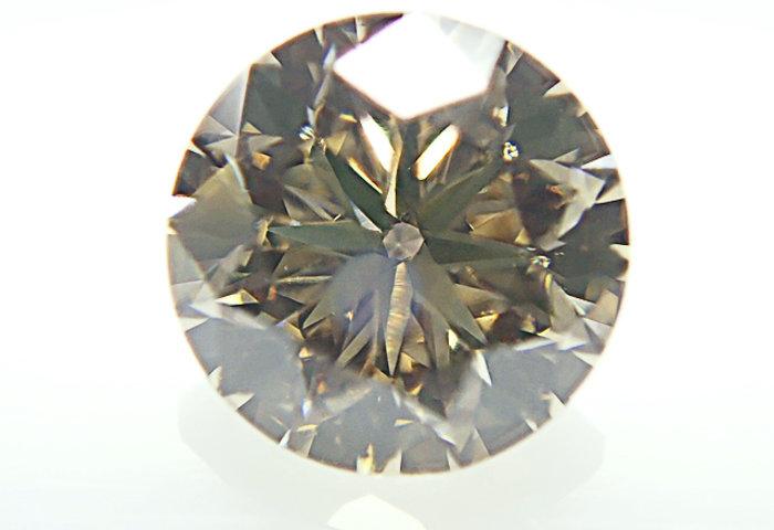 0.621ct FANCY.BROWN,SI1,ラウンド ブラウンダイヤモンドルース