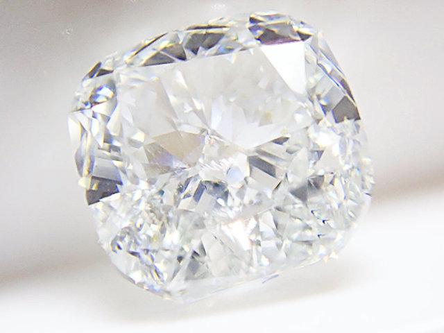 1.013ct LIGHT.BLUE,SI2,クッション ブルーダイヤモンドルース