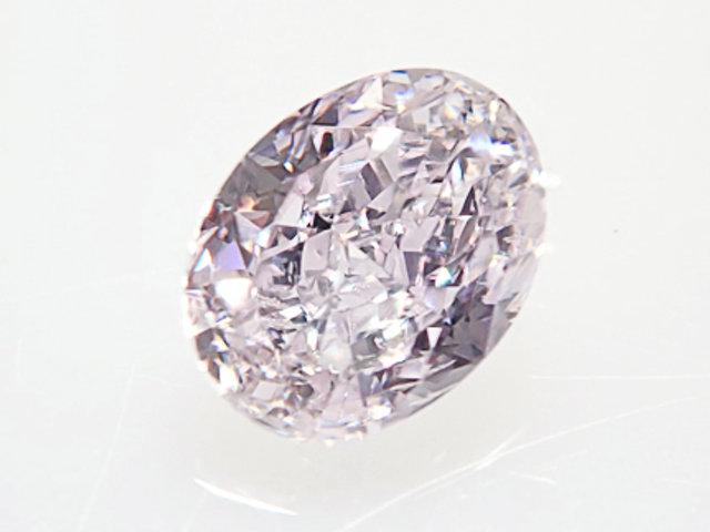 0.221ct FANCY.LIGHT.PINK.PURPLE,SI2,オーバル ピンクパープルダイヤモンドルース