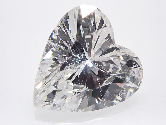 0.774ct F,SI2,ハートシェイプ ダイヤモンドルース