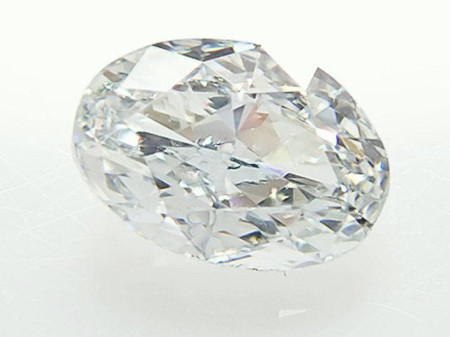0.387ct LIGHT.BLUE,VS2,オーバル ブルーダイヤモンドルース