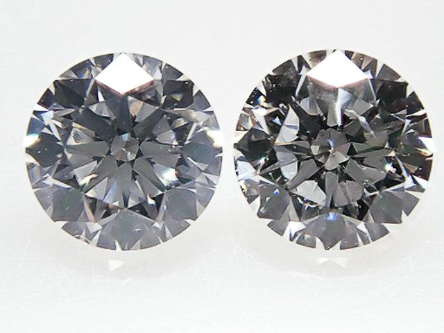 0.200ct & 0.200ct F,SI1,VERY GOOD ダイヤモンドペア組 ルース