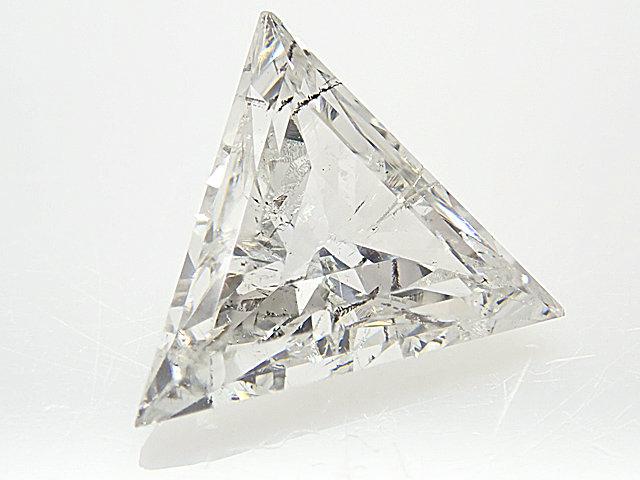 0.766ct H,SI2,トライングルカット ダイヤモンドルース