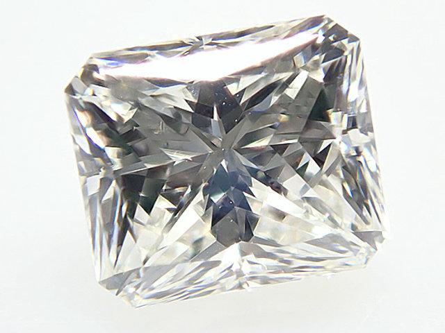 1.006ct H,VS1,ラディアント ダイヤモンドルース