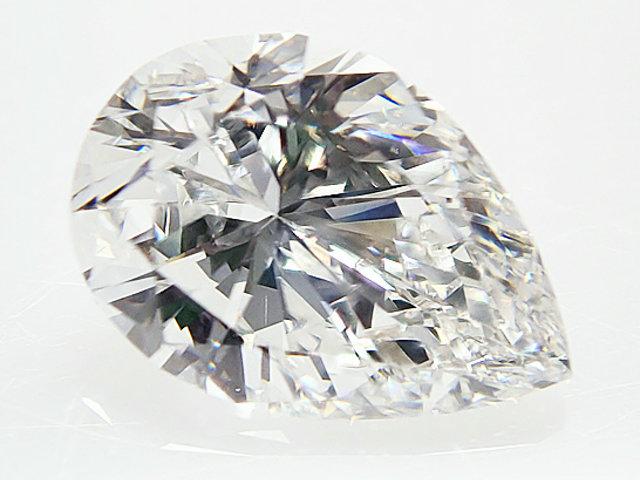 0.683ct F,VS2,ペアシェイプ ダイヤモンドルース
