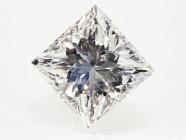 0.342ct E,VS2,プリンセスカット ダイヤモンドルース
