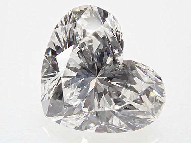 0.71ct G,SI2,ハートシェイプ,GIA ダイヤモンドルース