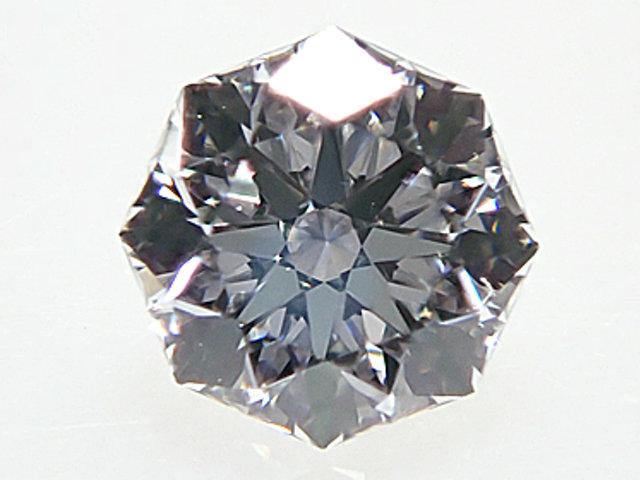 0.224ct D,VVS2,クリスタルムーン,H&C(ハート&キューピット) ダイヤモンドルース