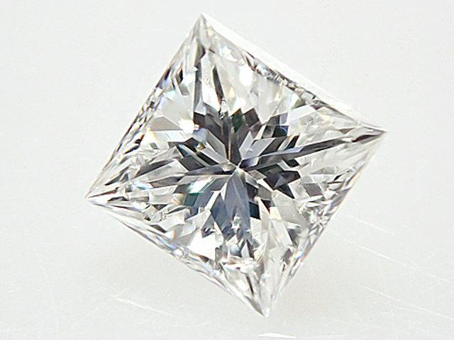 0.287ct F,SI1,プリンセスカット ダイヤモンドルース