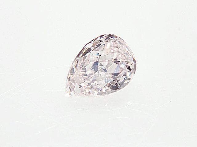 0.117ct LIGHT.PINK,SI1,ペアシェイプ ピンクダイヤモンドルース